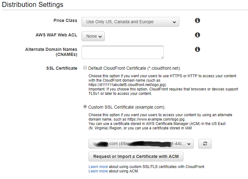 Things Ian Says :: Secure hosting using SSL and AWS CloudFront