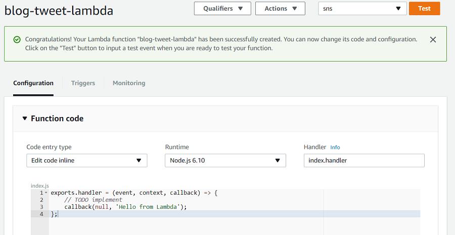 Things Ian Says :: Automated Tweets with AWS Lambda and DynamoDB